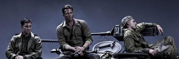 FURY Image David Ayers FURY Stars Brad Pitt Shia LaBeouf Logan - New official trailer fury starring brad pitt