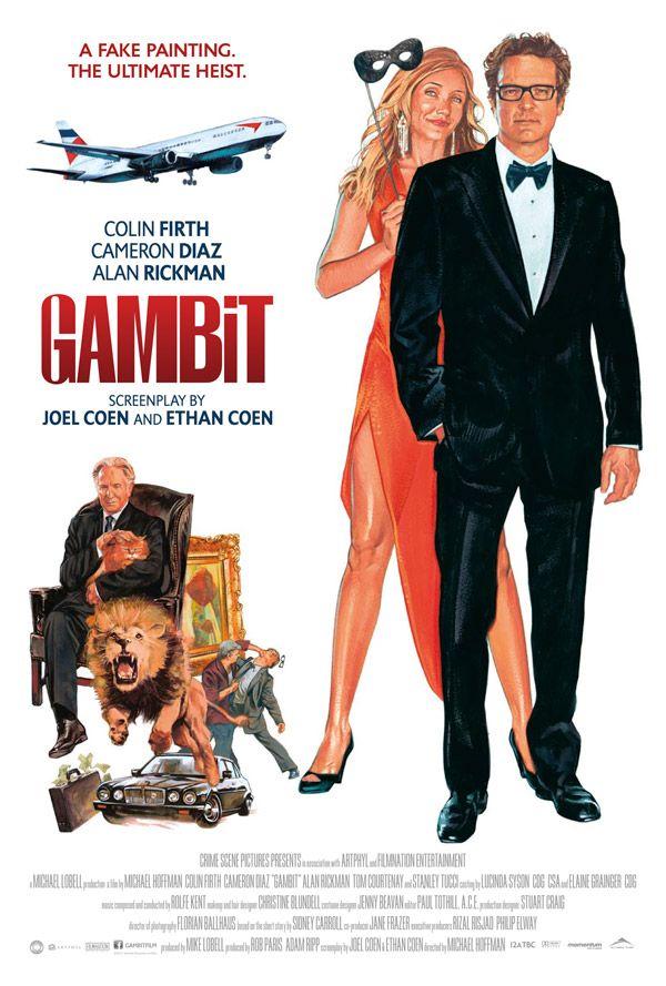 GAMBIT Remake Retro Po...