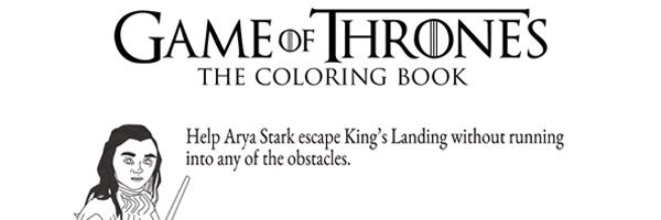 GAME OF THRONES Coloring Book Images  Collider