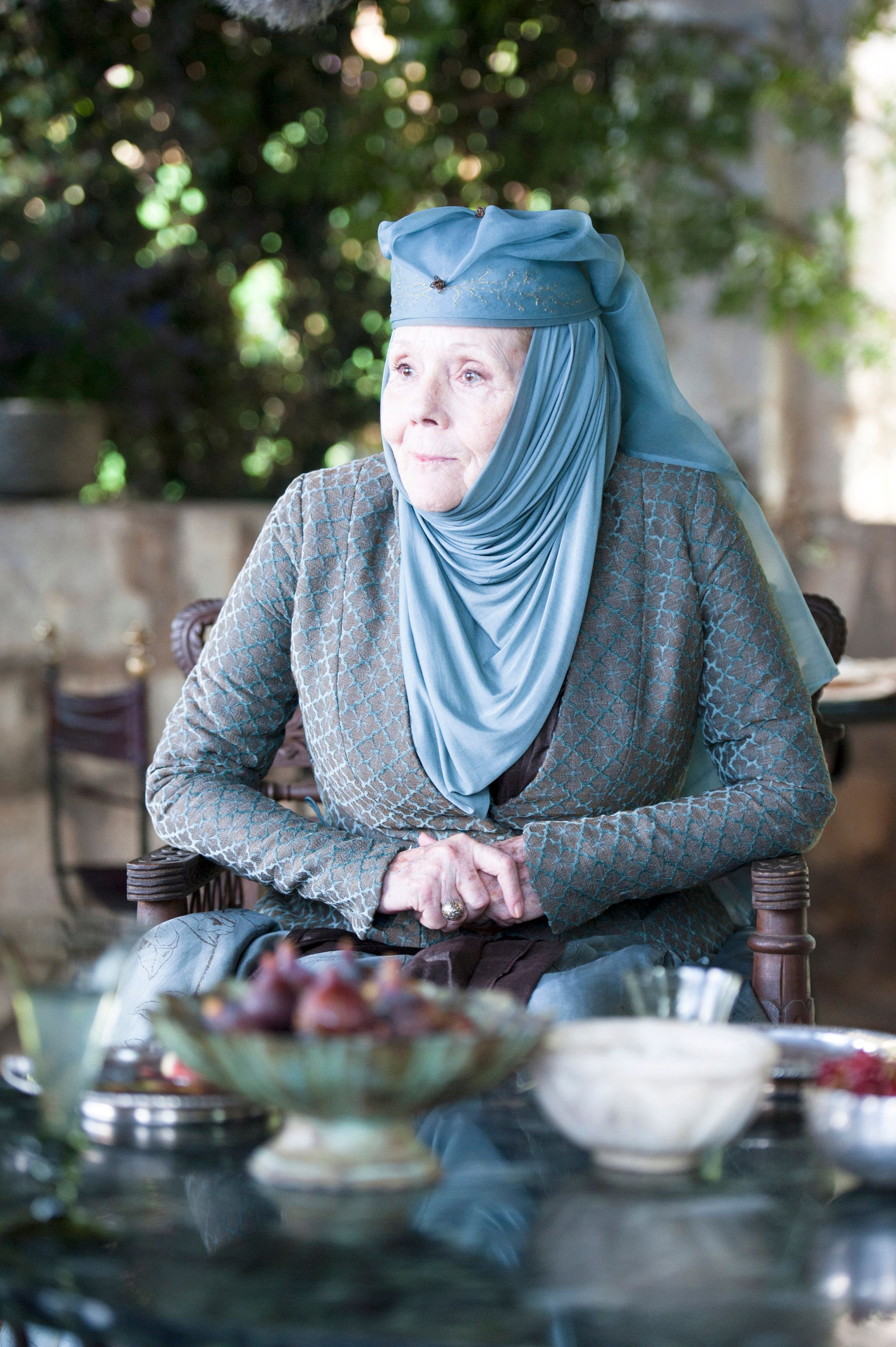 Galerry Peter Dinklage Diana Rigg Game Of Thrones