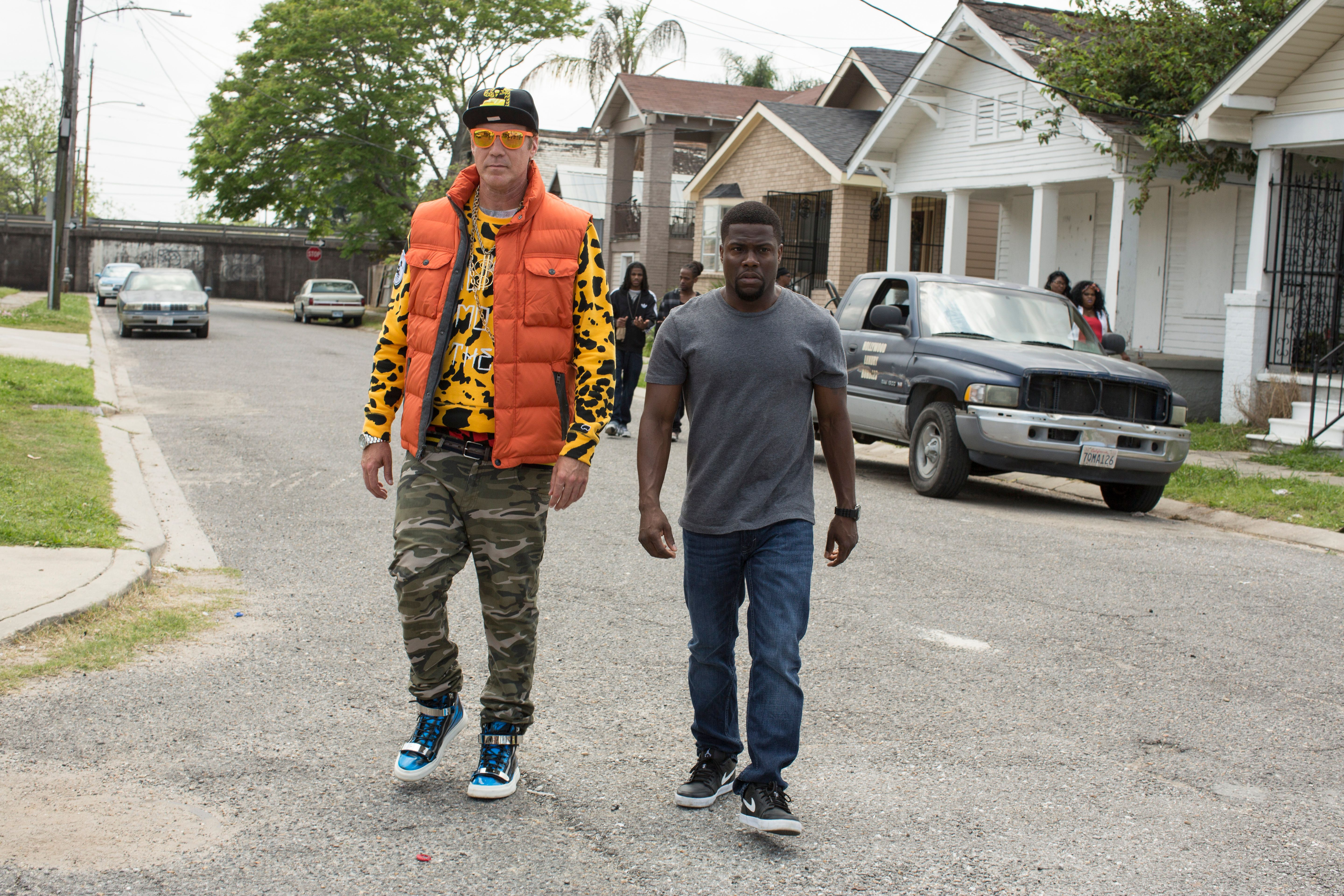 Get Hard Images Will Ferrell Prepares For Prison With Kevin Hart