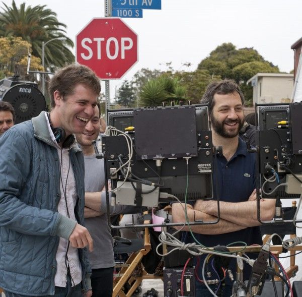 Get Him to the Greek movie image Nicholas Stoller and Judd Apatow