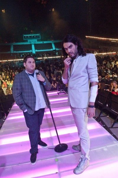 Get Him to the Greek movie image Russell Brand and Jonah Hill