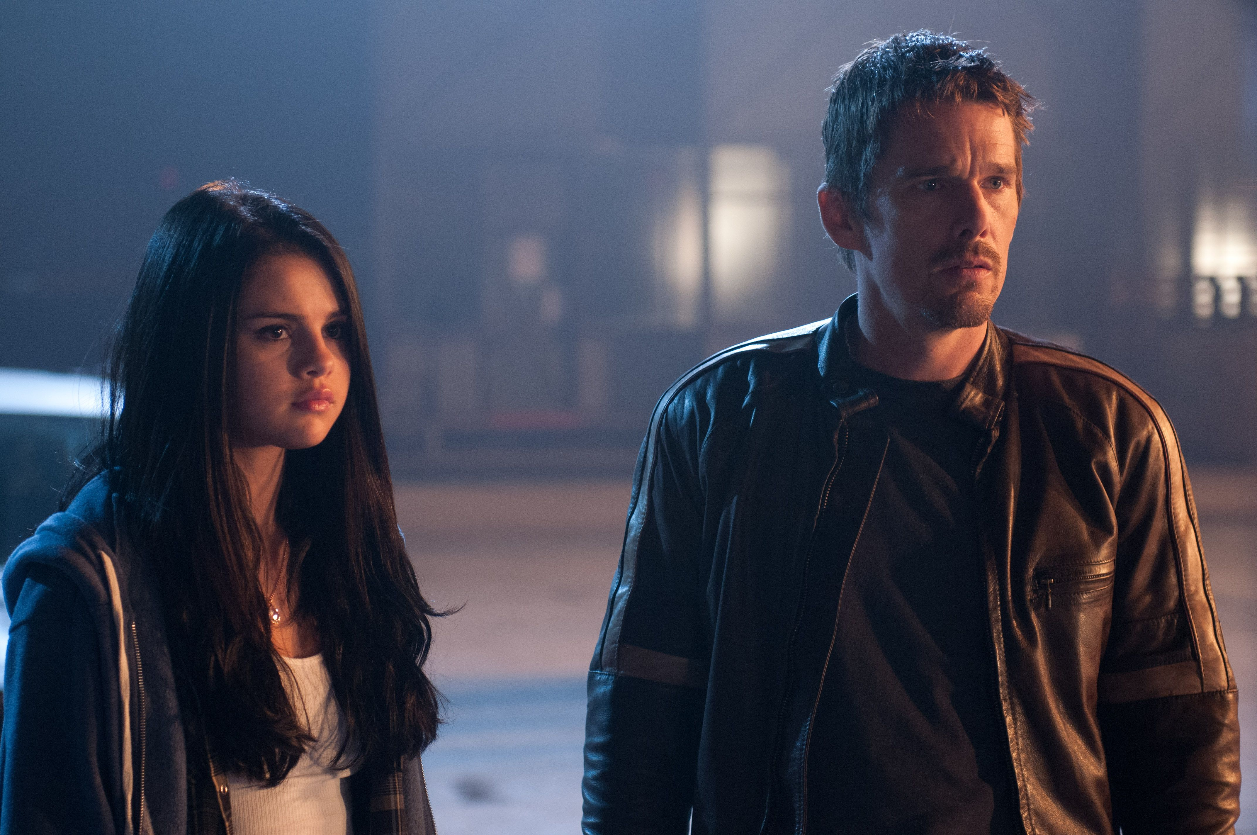 getaway interview ethan hawke selena gomez and courtney