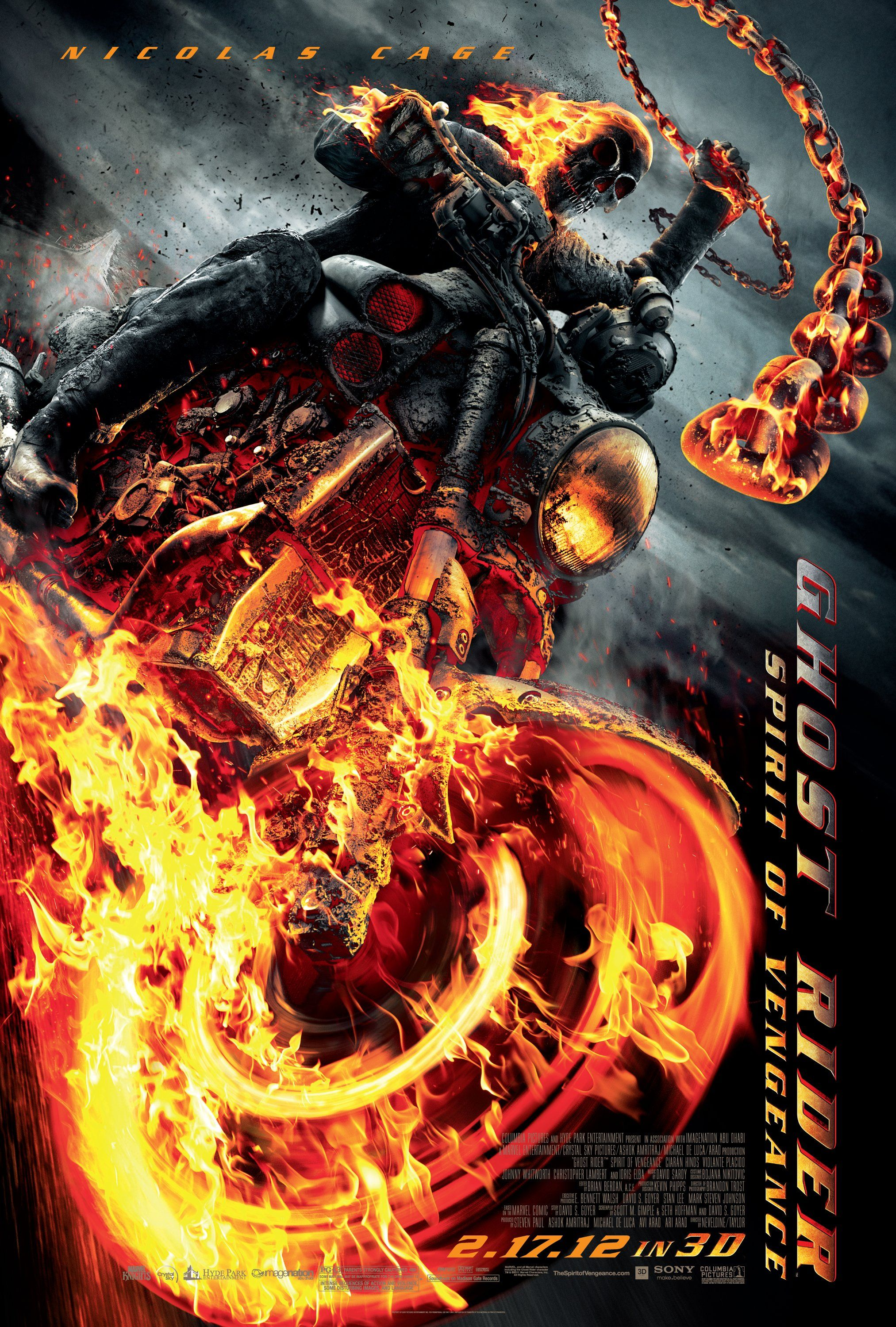 Fragile Flockhart Review Ghost Rider Final Poster