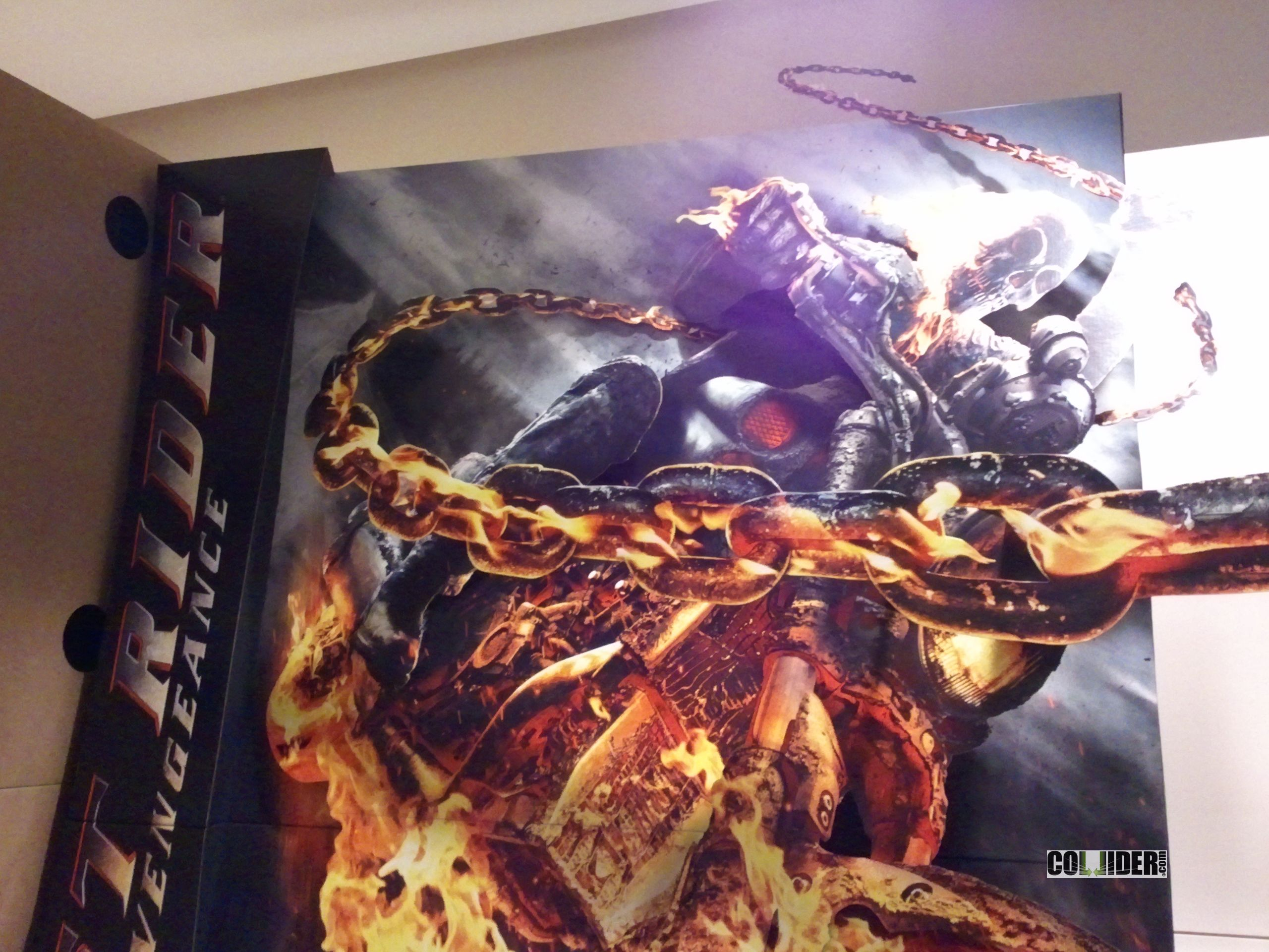 ghost rider 2 21 jump street and men in black 3 standee