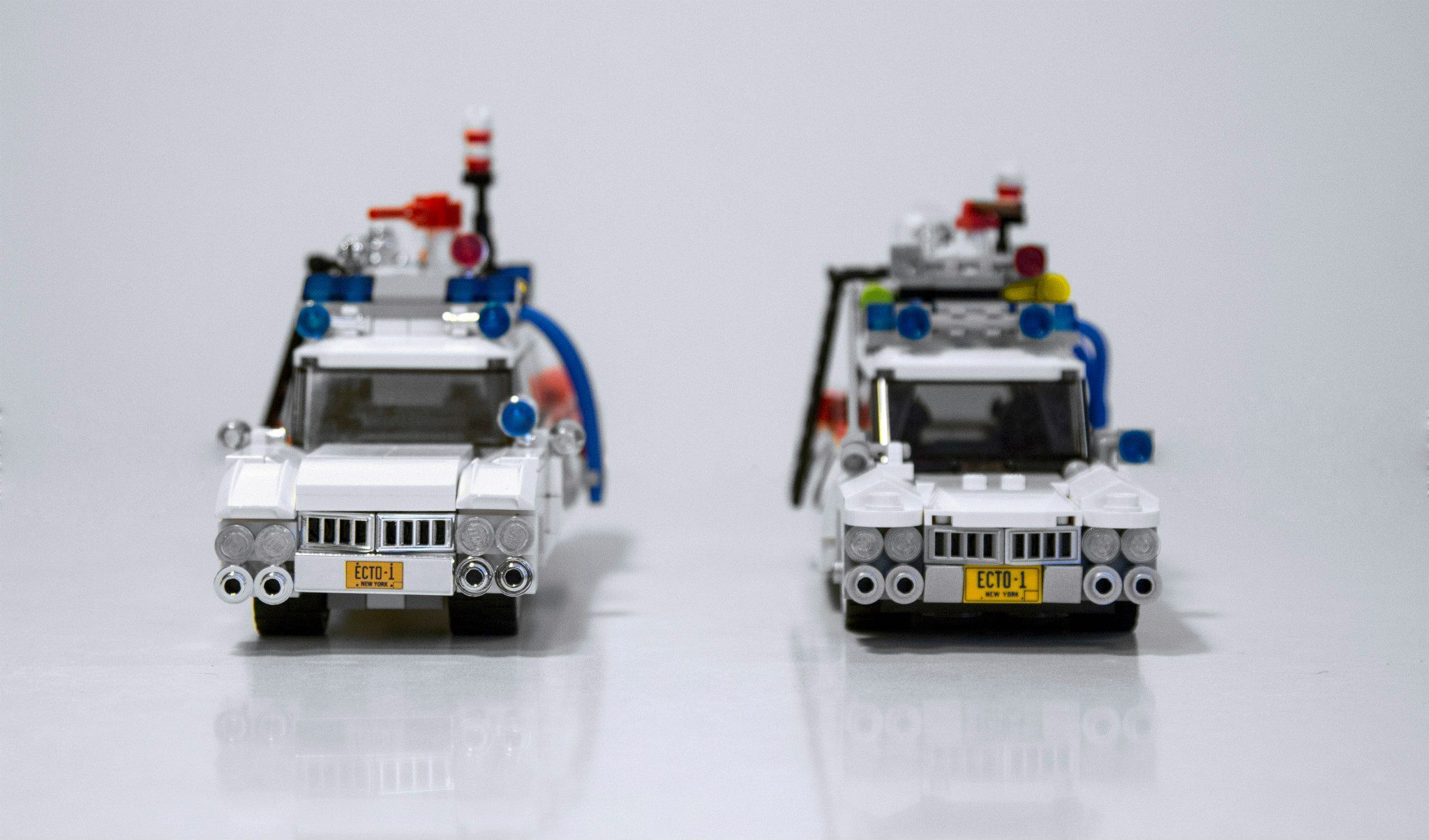 Ghostbusters Lego Image Comparison For The Ecto 1 Vehicle Collider 75828 Ampamp 2 4