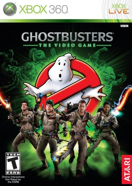 ghostbusters video game cover