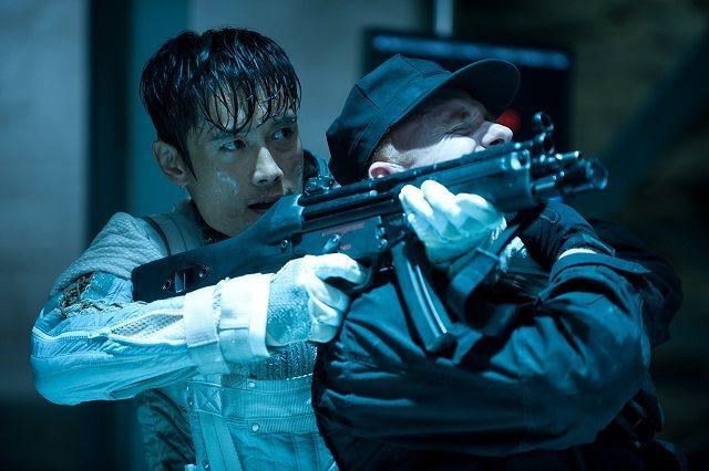 Byung-Hun Lee G.I. JOE: RETALIATION On Set Interview ...