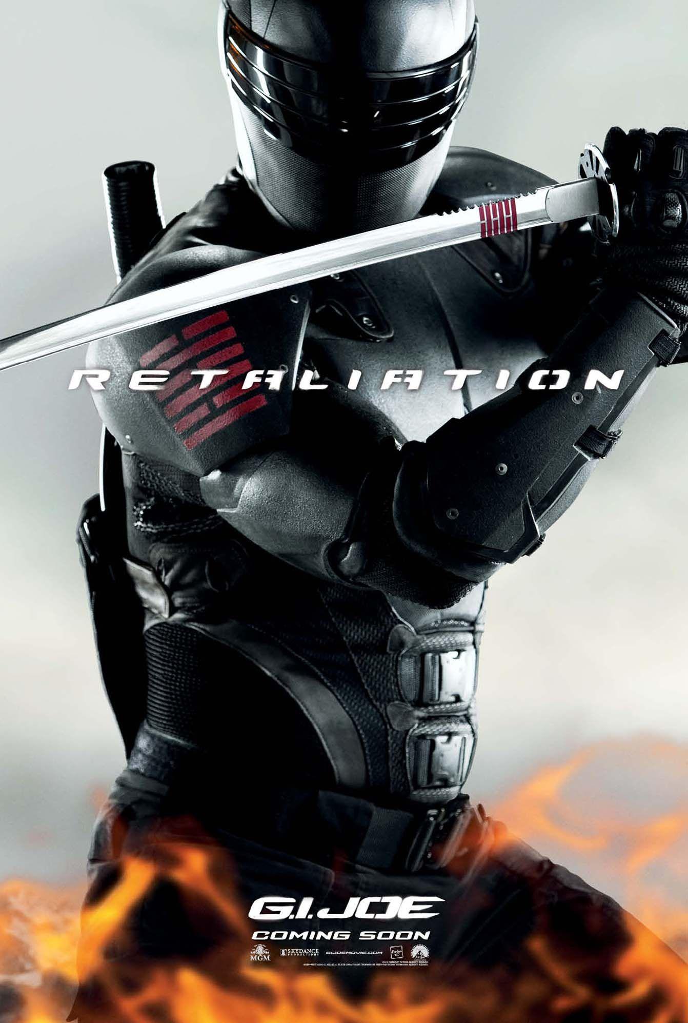 G.I. JOE 2 Character Posters | Collider Gi Joe Retaliation Character Poster