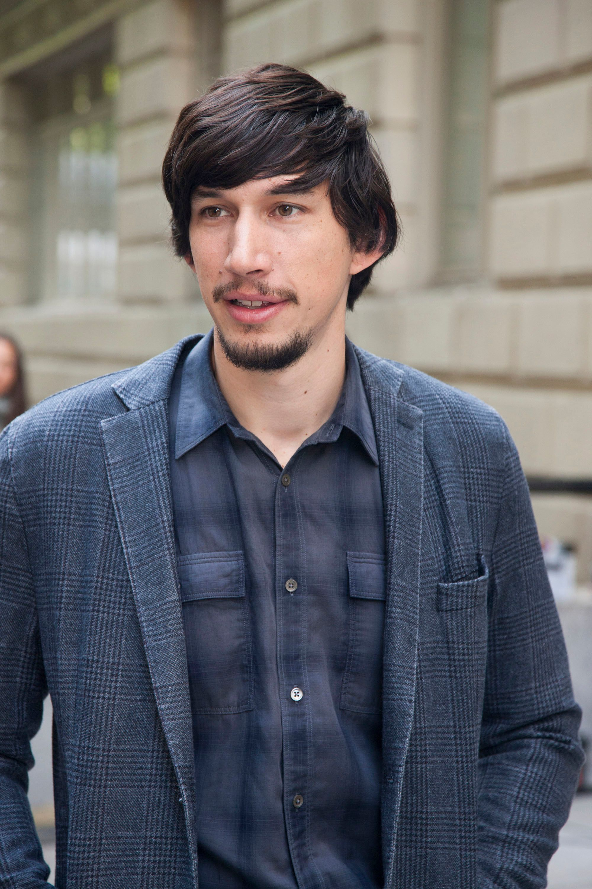 adam driver young