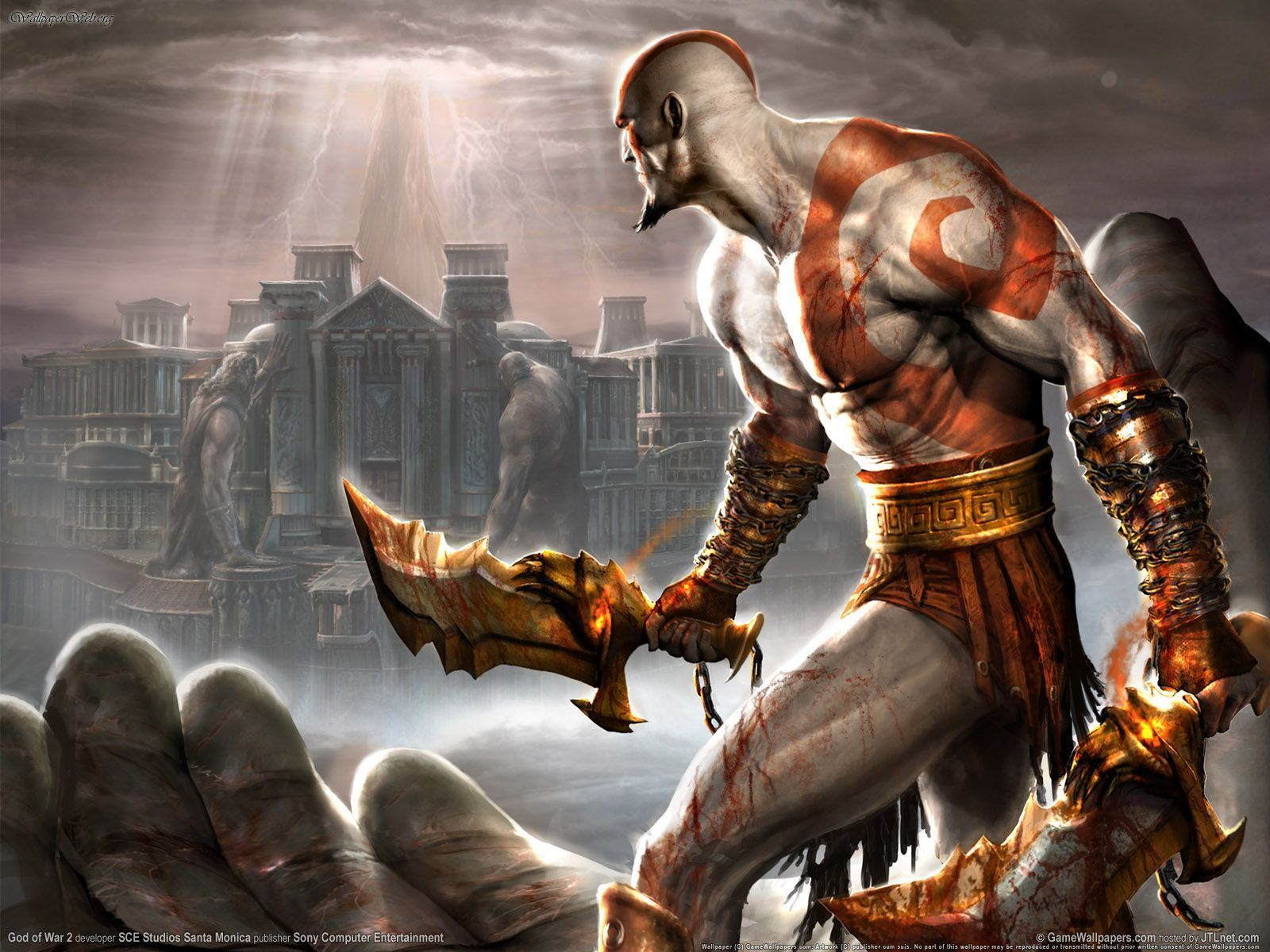 Patrick Melton And Marcus Dunstan To Rewrite GOD OF WAR