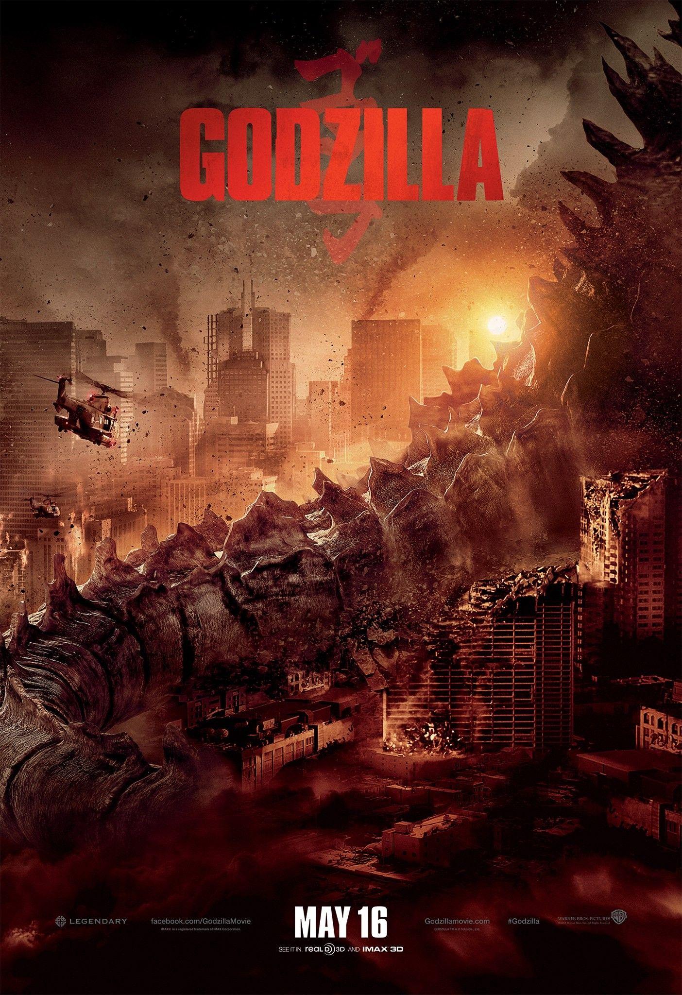 GODZILLA Posters, THE ... Andrew Garfield Imdb