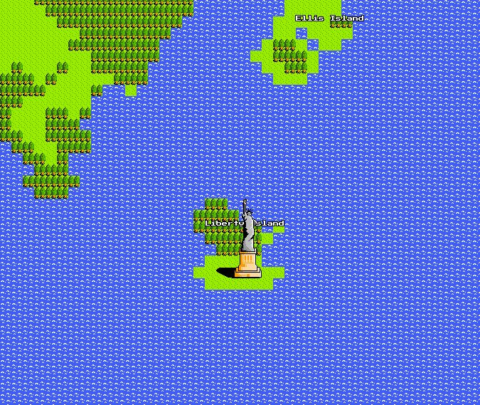 Google Launches 8 Bit Google Maps Collider