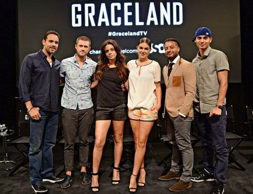 Manny Montana Talks GRACELAND and Michael Mann's CYBER ... Graceland Tv Show Season 2