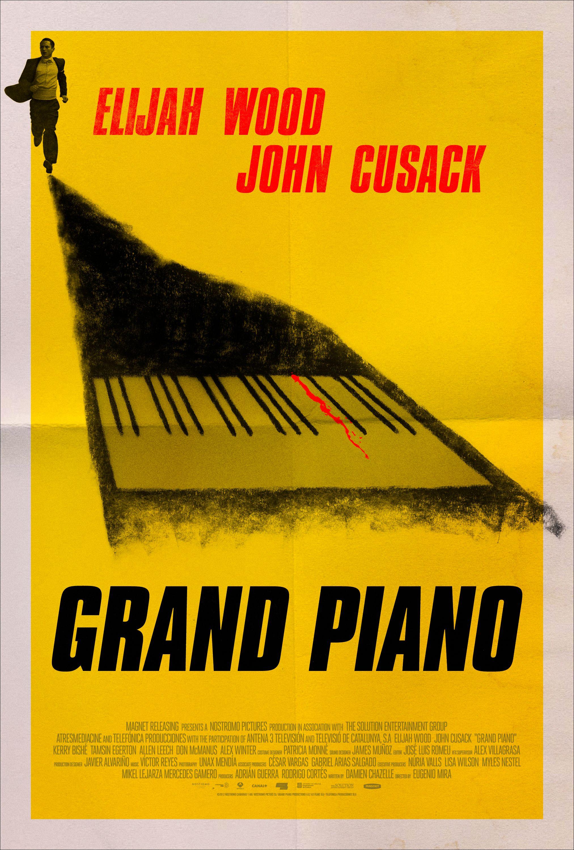 Grand Piano Poster Alternative