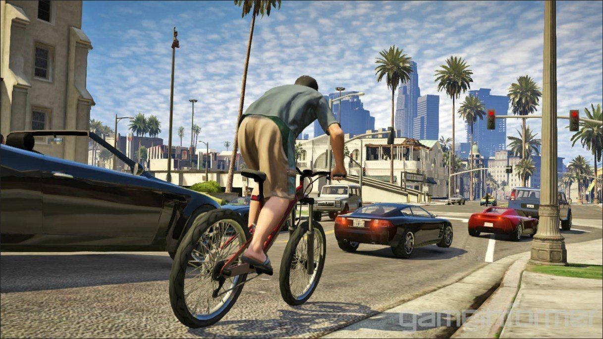 Grand Theft Auto V Plot And Images New Images From Rockstar S Gta 5