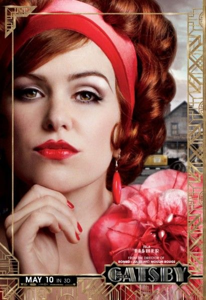 great gatsby poster isla fisher