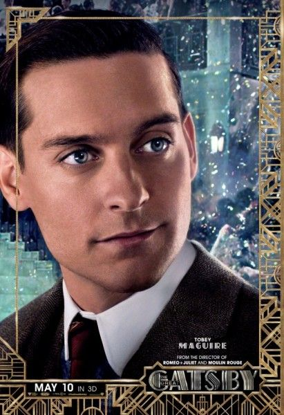 great gatsby poster tobey maguire