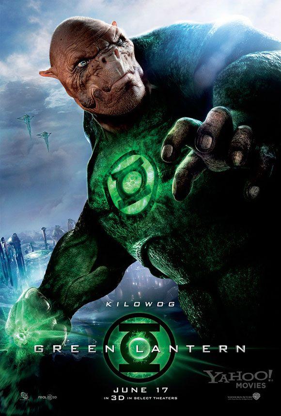 GREEN LANTERN Posters Sinestro and Kilowog | Collider Green Lantern Movie Poster
