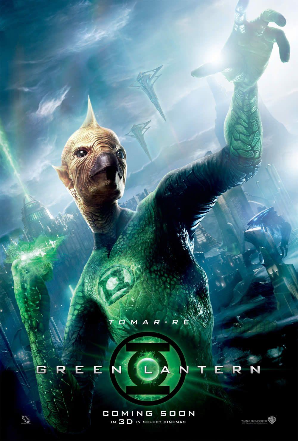 GREEN LANTERN Poster Tomar-Re | Collider Green Lantern Movie Poster