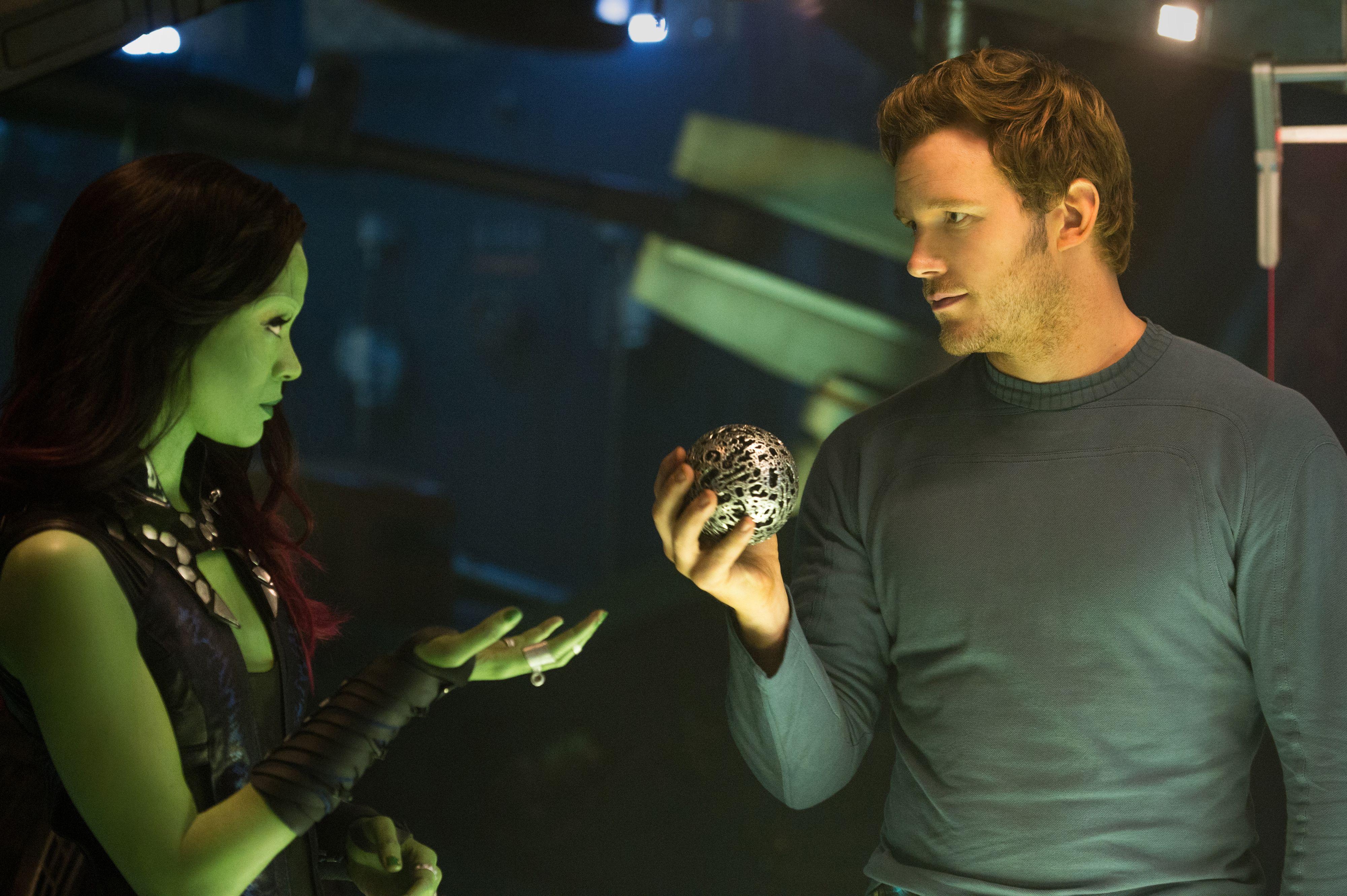 Guardians Of The Galaxy Interview Chris Pratt Vin Diesel