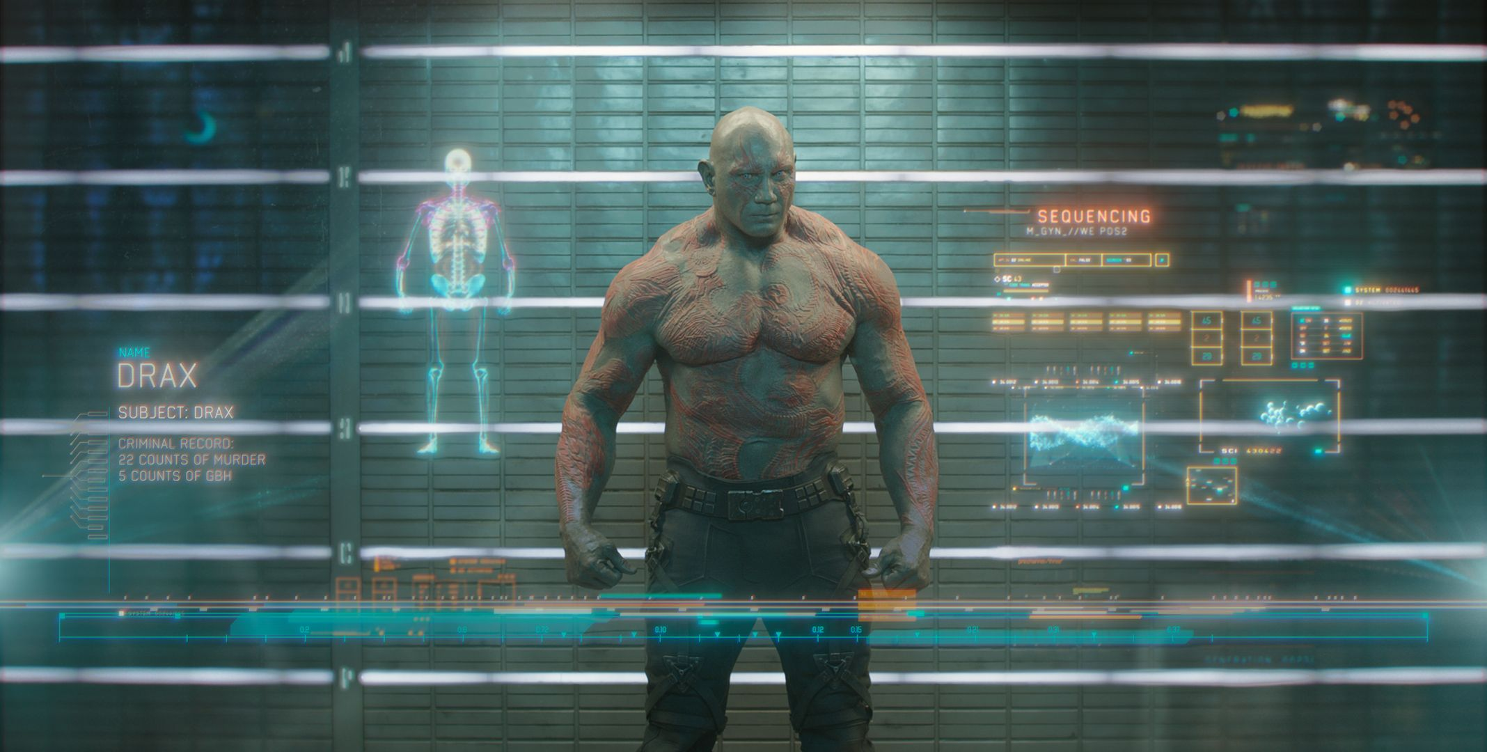 meet the guardians of galaxy drax