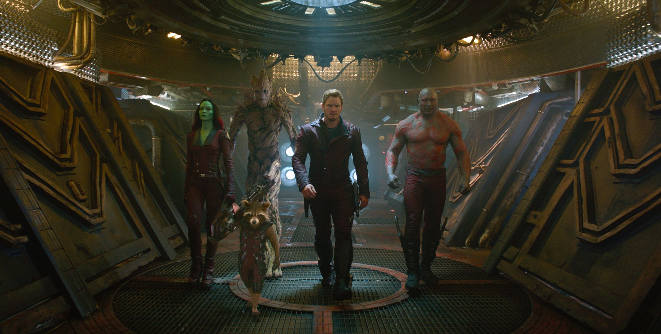 Guardians Of The Galaxy Set Photos Groot