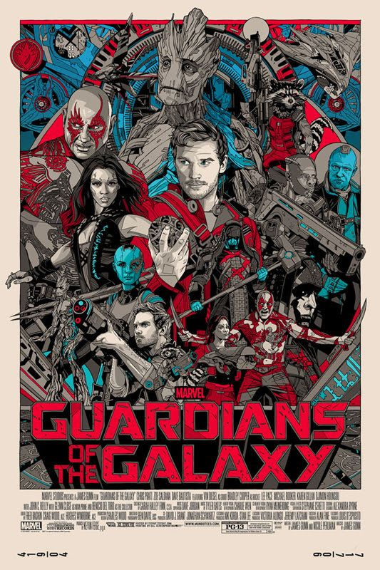 Guardians of the Galaxy Mondo Posters on Sale Friday ...