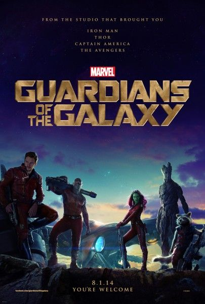 guardians of the galaxy characters poster