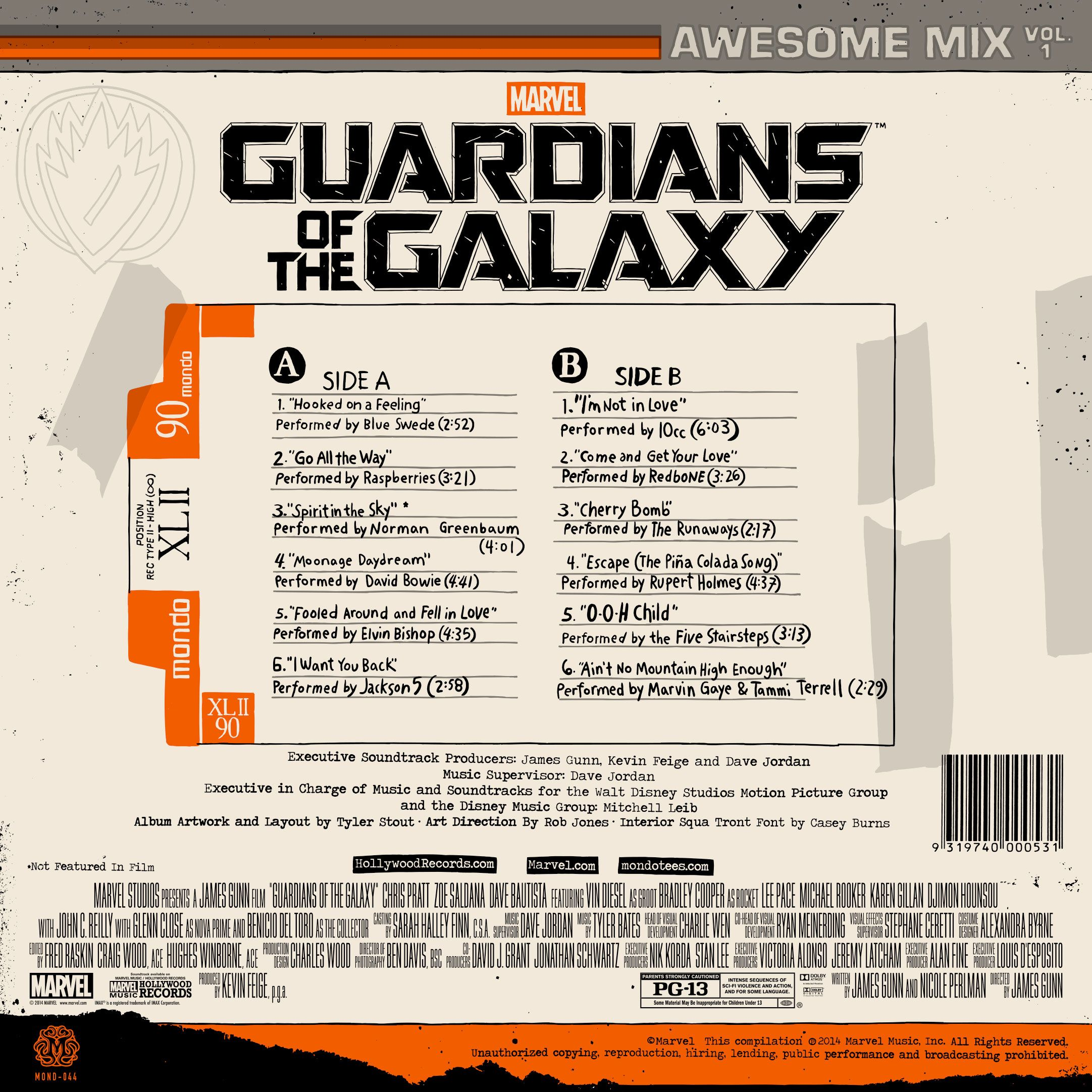 Mondo Releasing The Guardians Of The Galaxy Soundtrack On