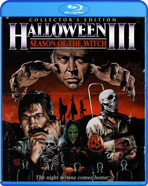 halloween 3 season of the witch blu ray cover