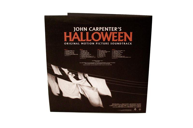 halloween soundtrack mondo cover back - Halloween Mondo Poster