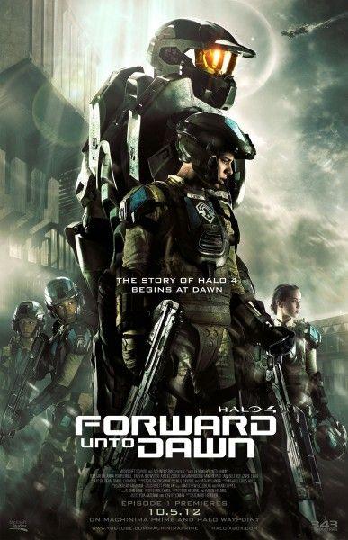 halo 4 forward unto dawn poster