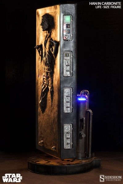 han solo carbonite life size figure 2