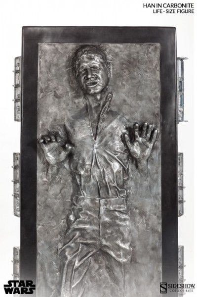 han solo carbonite life size figure 3