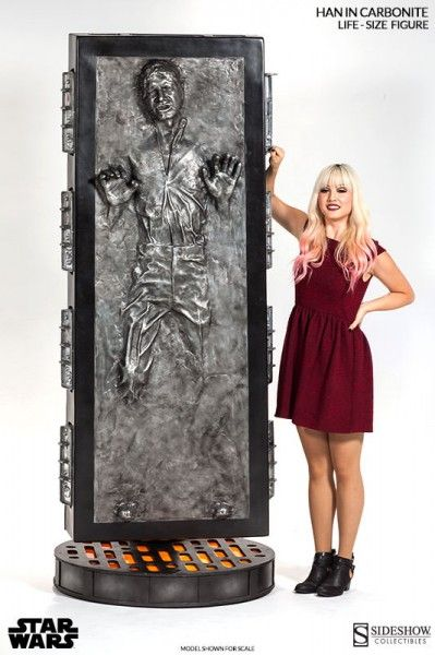 han solo carbonite life size figure 4