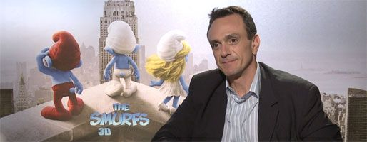 Hank Azaria SMURFS interview slice