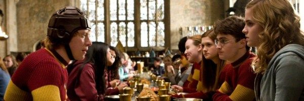 harry potter cast hogwarts houses