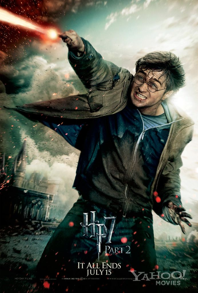 Daniel Radcliffe Harry Potter And The Deathly Hallows Part 2 HARRY POTTER AND THE D...