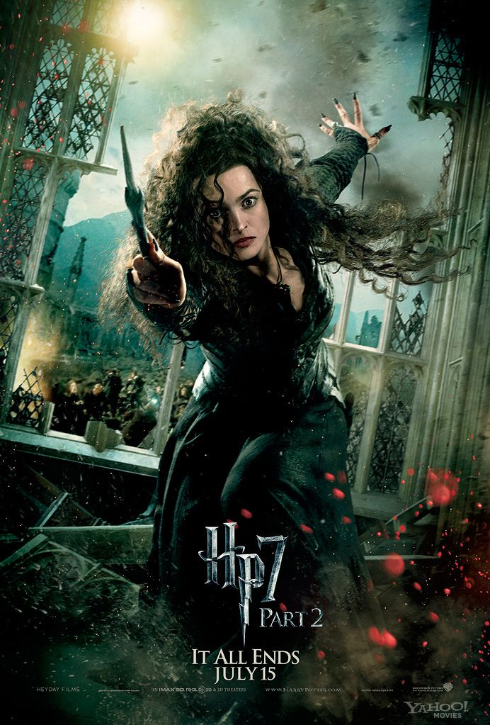 harry potter and the deathly hallows part character posters  harry potter deathly hallows 2 movie poster helena