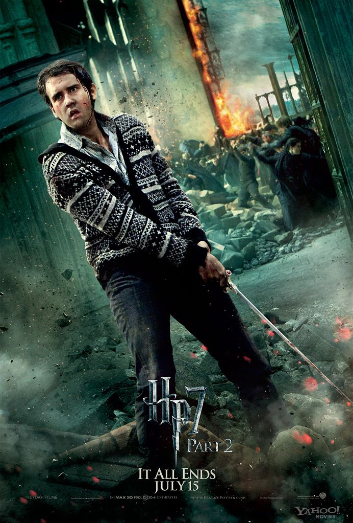 HARRY POTTER AND THE DEATHLY HALLOWS – PART 2 Character ...  HARRY POTTER AN...