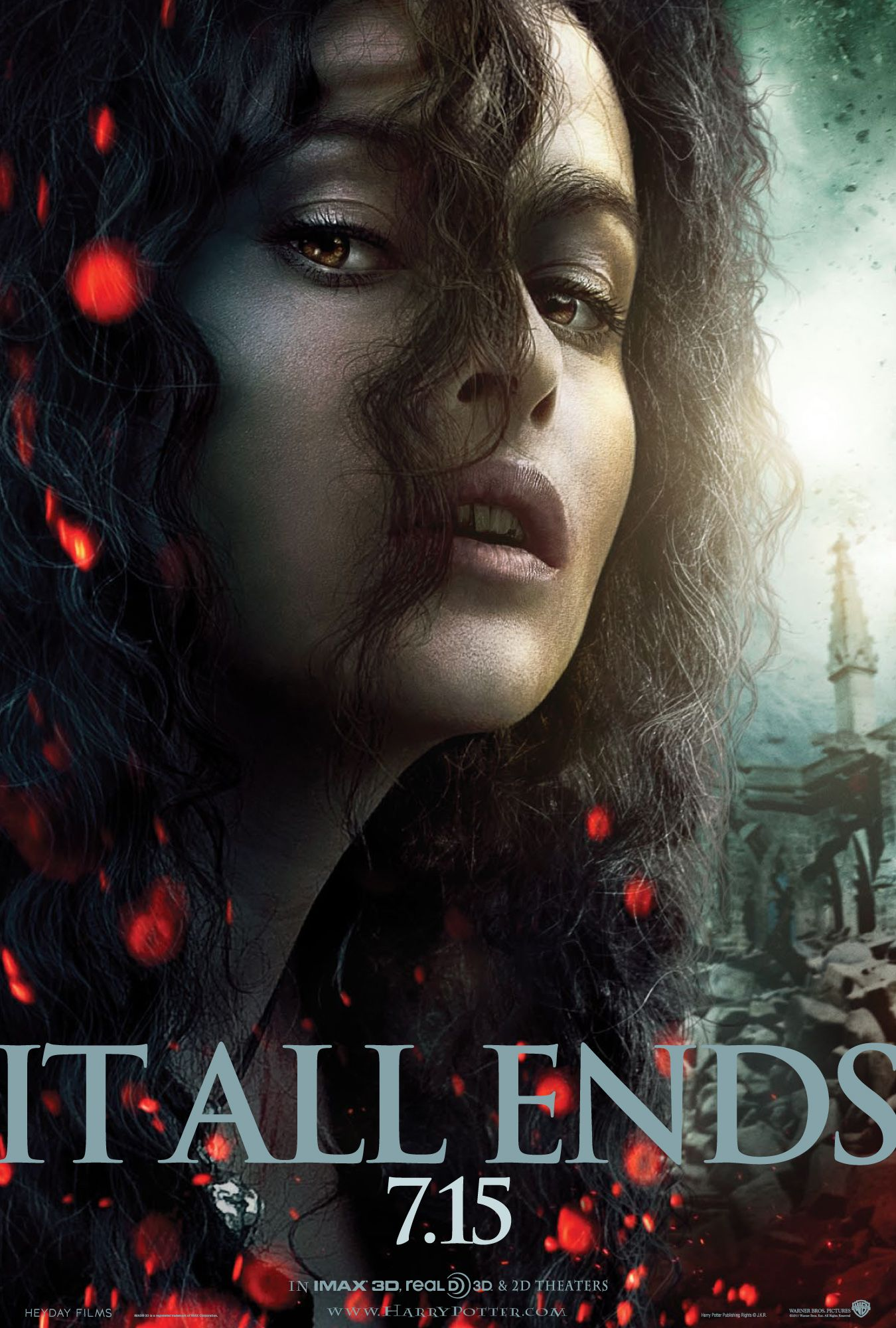 Bellatrix HARRY POTTER AND THE DEATHLY HALLOWS - PART 2 ...