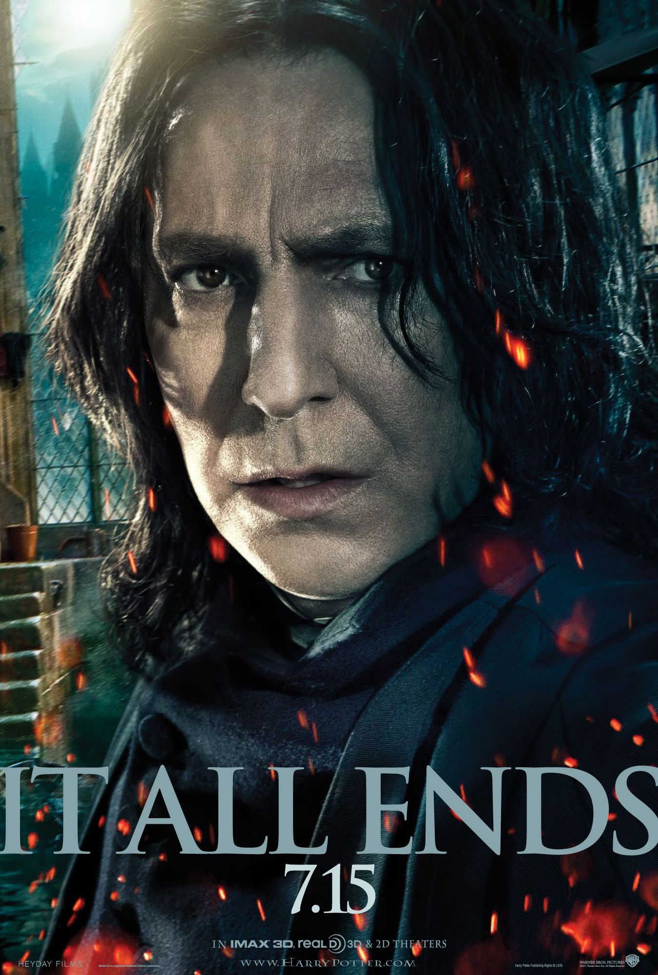 Harry Potter Deathly Hallows Part 2 Snape Poster
