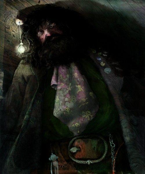 harry-potter-illustrated-hagrid