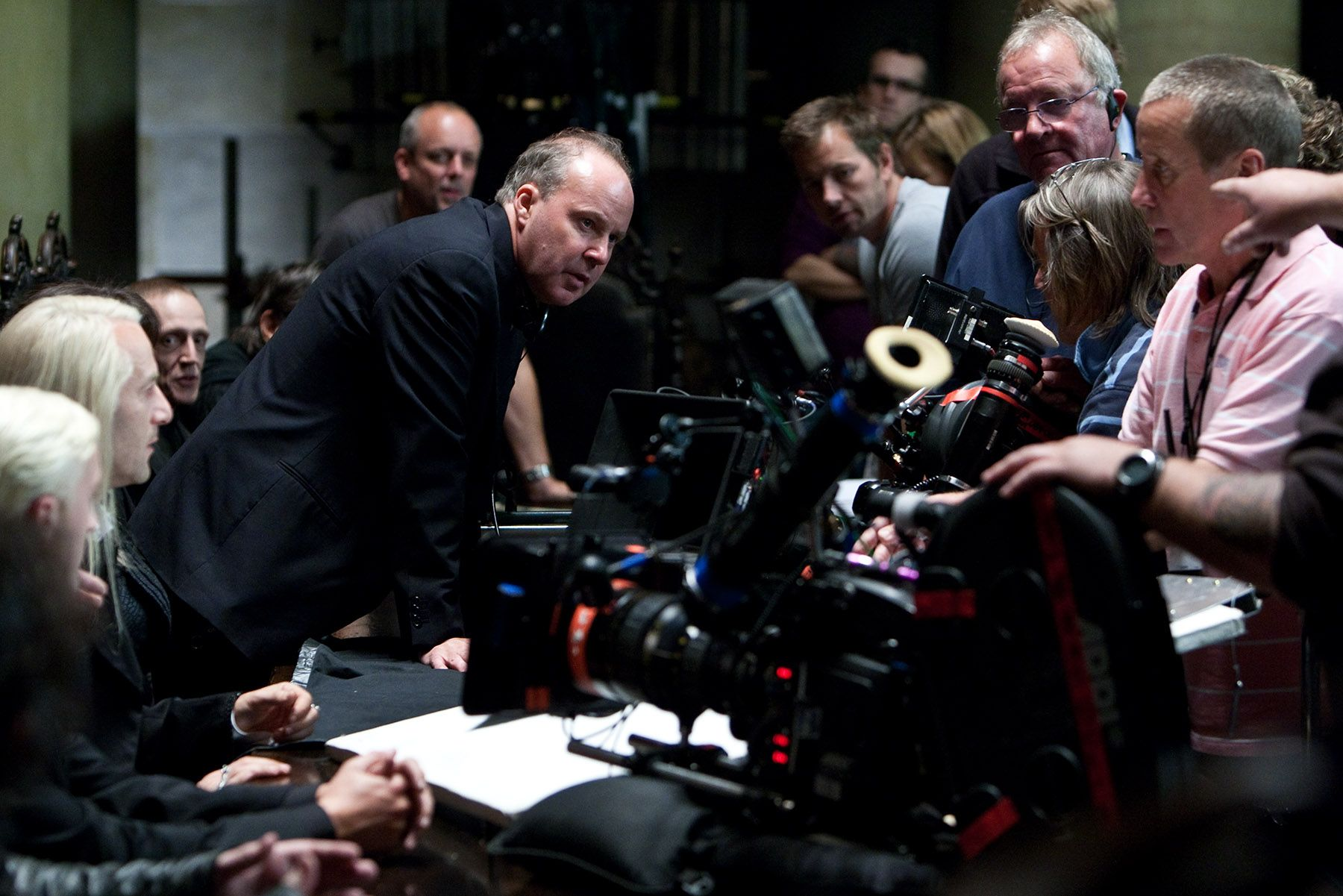 Harry Potter Camera Crew In View : Harry potter and the deathly hallows part i movie images daniel
