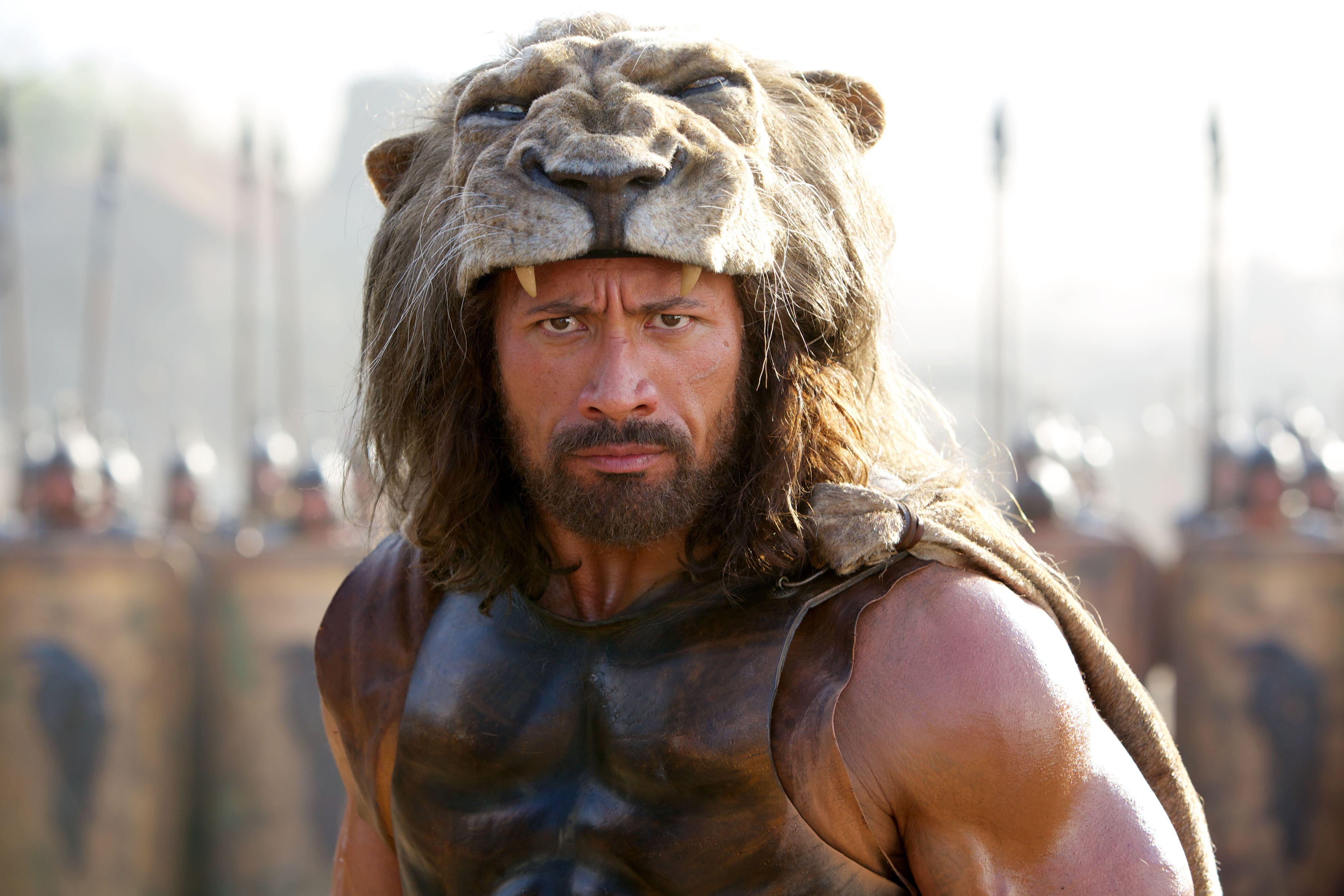 Hercules Dwayne Johnson Lion Hat