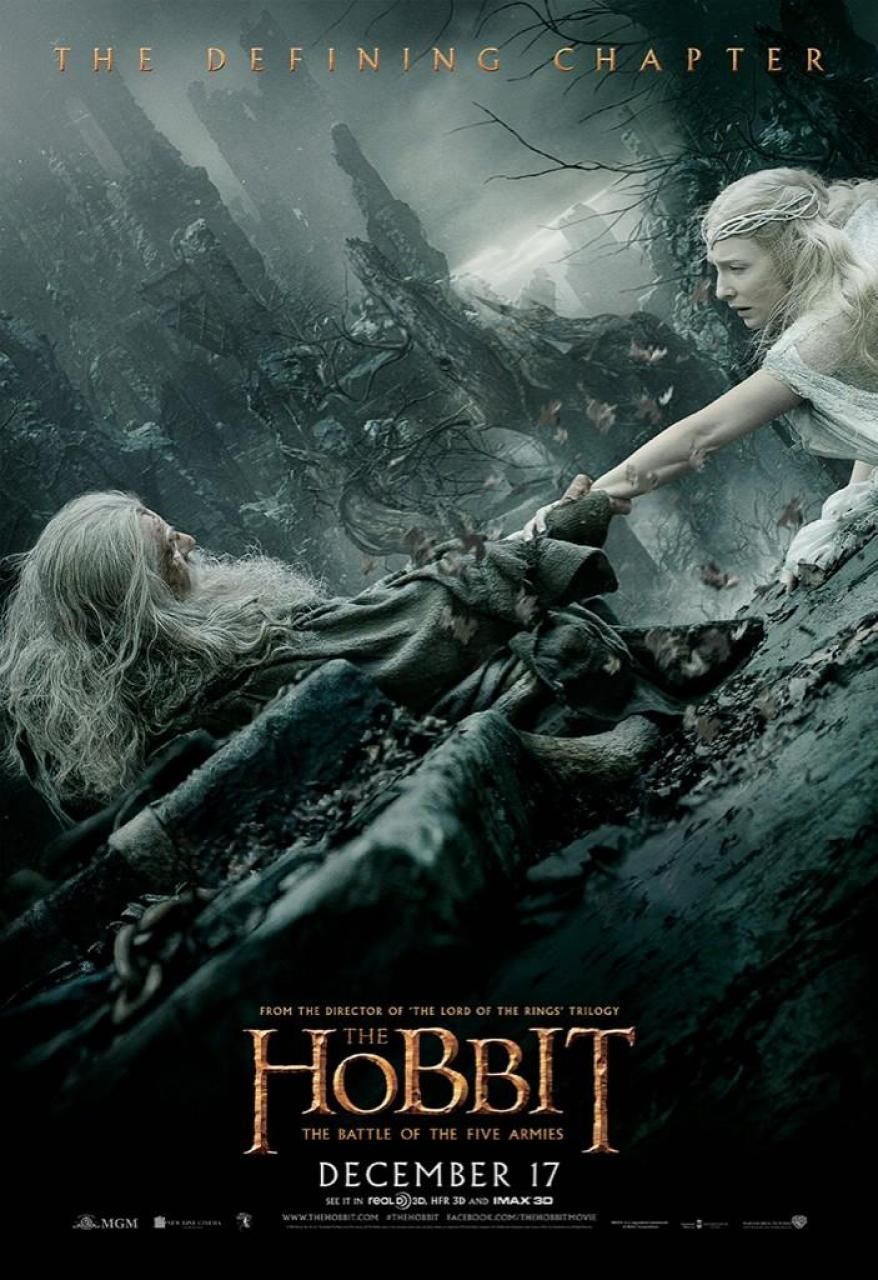 more the hobbit the battle of the five armies posters
