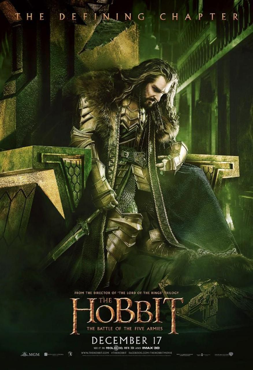 More The Hobbit: The Battle of the Five Armies Posters ...