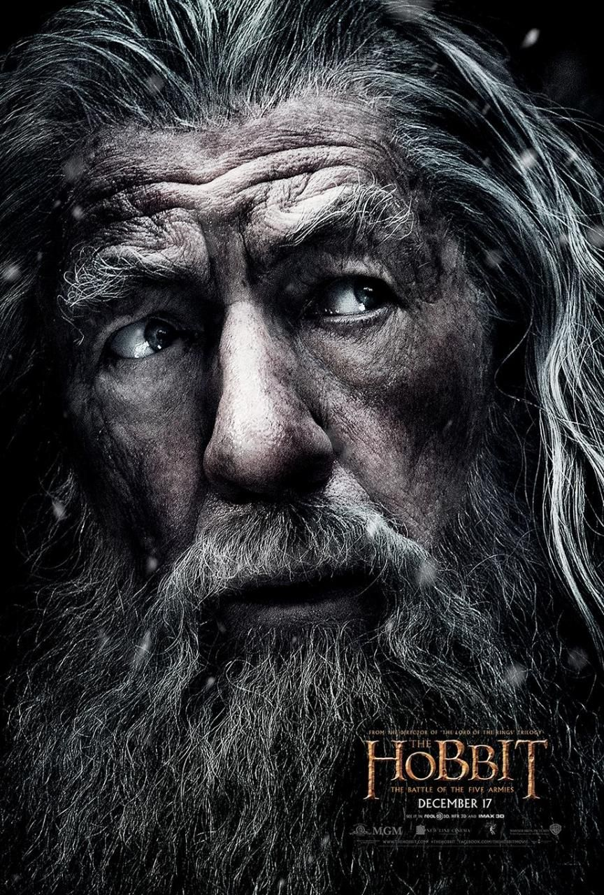 The Hobbit: The Battle of the Five Armies Poster Featuring ...